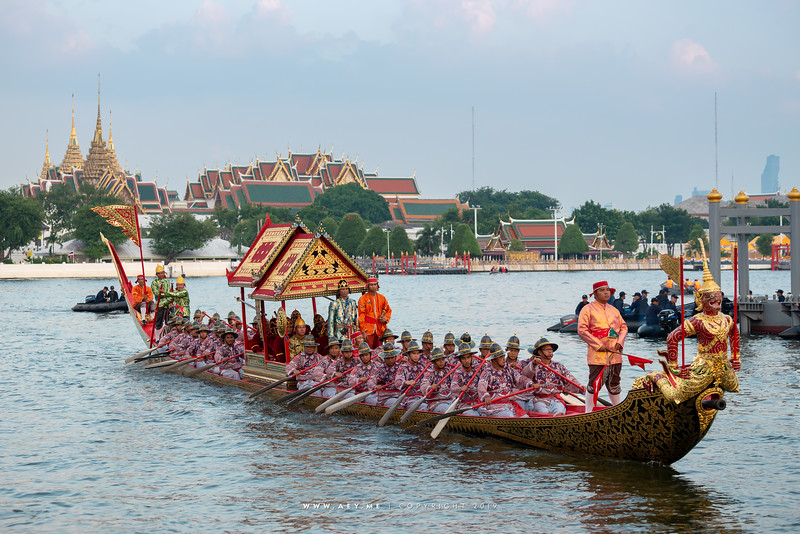 The Rehearsal for the Royal Barge Procession