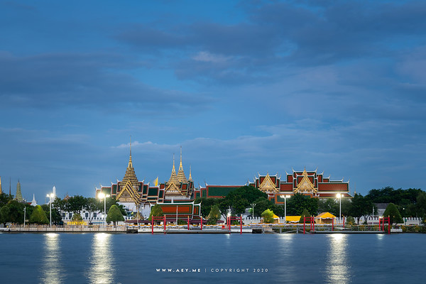 Twilight at the Grand Palace