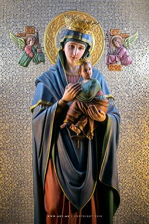 Virgin Mary and Infant Jesus, Holy Redeemer Church, Bangkok