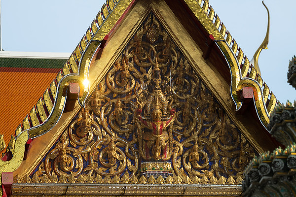 Narayana on Garuda, Wat Pho (Wat Phra Chetuphon)