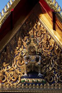Lakshmana on Hanuman, Wat Pho (Wat Phra Chetuphon)