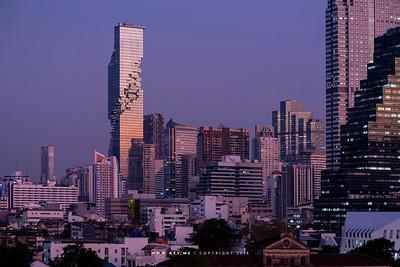 Mahanakhon and the Cityscape of Bangkok