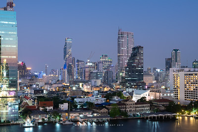 Mahanakhon and the Cityscape of Bangkok