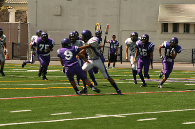 CHS FOOTBALL SCRIMMAGE • 08.30.08