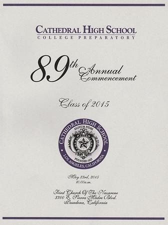 CHS CLASS OF 2015 GRADUATION • 05.23.15
