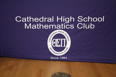 CHS 29TH ANNUAL MATH CLUB AWARDS CEREMONY • 04.25.13