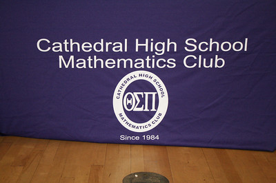 CHS 29TH ANNUAL MATH CLUB AWARDS CEREMONY • 04.25.13