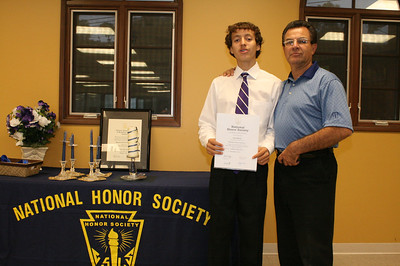 PHANTOMS FRATRUM SCHOLARUM NATIONAL HONOR SOCIETY INDUCTION CEREMONY • 11.08.12