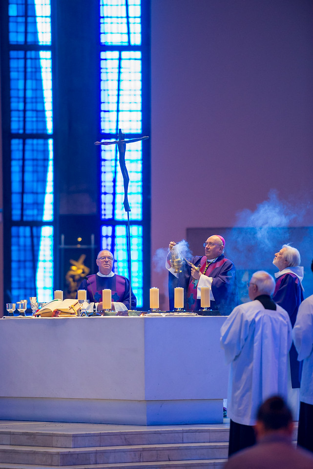 "Annual Mass for Marriage and Family Life celebrated by Archbishop Malcolm McMahon in the Metropolitan Cathedral of Christ the King on Sunday 11th March 2018.  Picture by  <a href=""http://www.nickfairhurstphotographer.com"">http://www.nickfairhurstphotographer.com</a>"