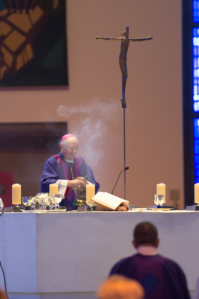 "Archbishop Malcolm McMahon celebrated Mass for Marriage and Family Life in the Metropolitan Cathedral of Christ the King on Sunday 21 February 2016.  Picture by  <a href=""http://www.nickfairhurstphotographer.com"">http://www.nickfairhurstphotographer.com</a>"