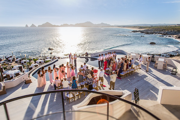 Cabo wedding. Sunset Monalisa