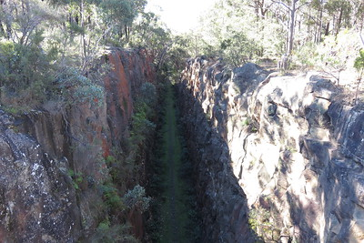 Deepest railway cutting in NSW