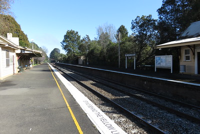 Bundanoon railway station