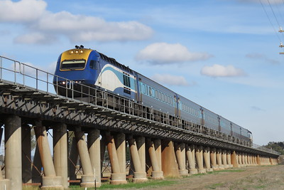 XPT service from Melbourne to Sydney.