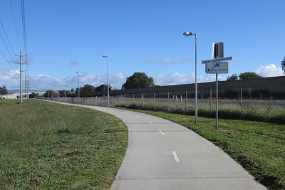 On to the cycleway.