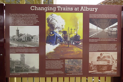 'Changing Trains at Albury'