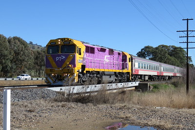 V/line, EMD JT22HC-2, N class, N457 'City of Mildura'