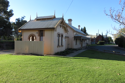 The old Corowa railway station.