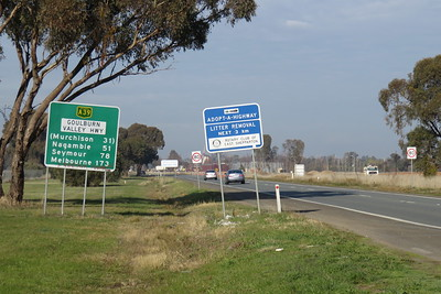 173 km to Melbourne!