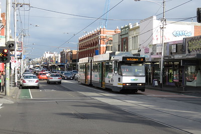 Tram in North Coburg