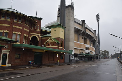 A soggy start at the SCG