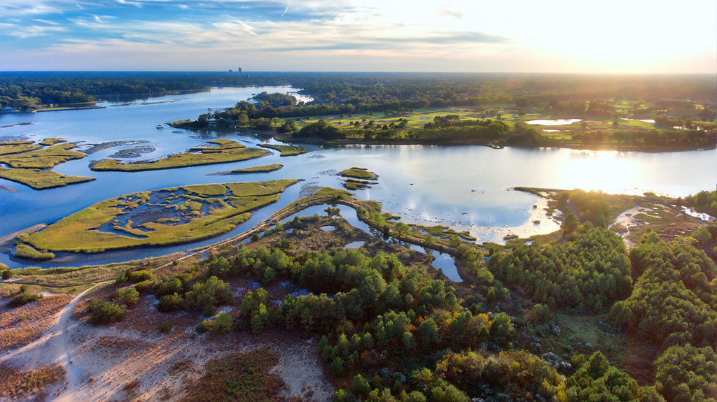 Lynnhaven River tidal estuary of the Chesapeake Bay