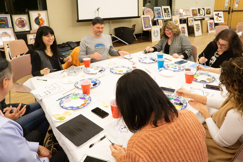 2019-01-31-Pinot and Paint with Mordechai Rosenstein Arts-05855