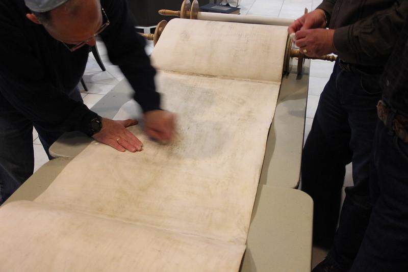 2014-03-Torah Cleaning and Repairs_8442