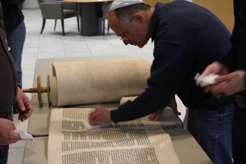 2014-03-Torah Cleaning and Repairs_8377