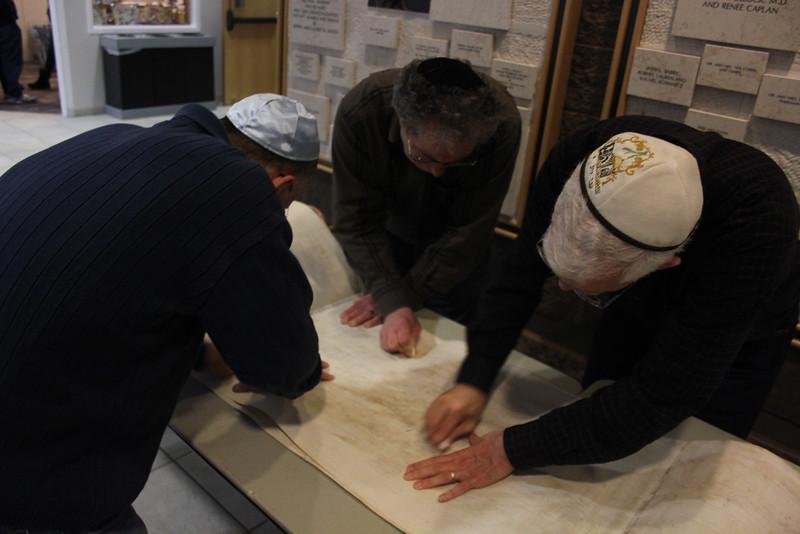 2014-03-Torah Cleaning and Repairs_8450