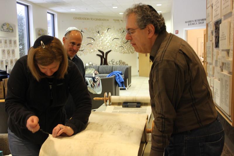 2014-03-Torah Cleaning and Repairs_8406