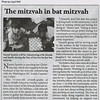 2011-12-22-Jewish Week - Bat mitzvah