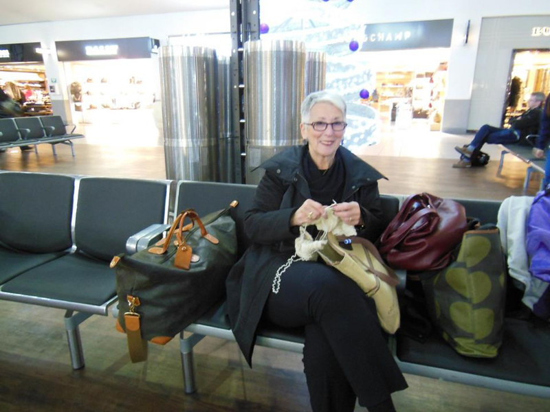 Andrea Knitting2