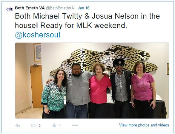 2015-01-MLK Kosher Soul prep_Twitty tweet 8 Jan 16