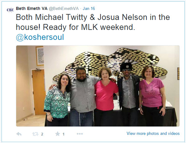 2015-01-MLK Kosher Soul prep_Twitty tweet 8 Jan 16