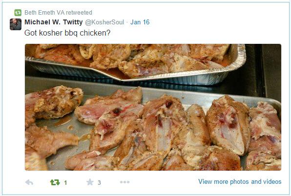 2015-01-MLK Kosher Soul prep_Twitty tweet 6 Jan 16