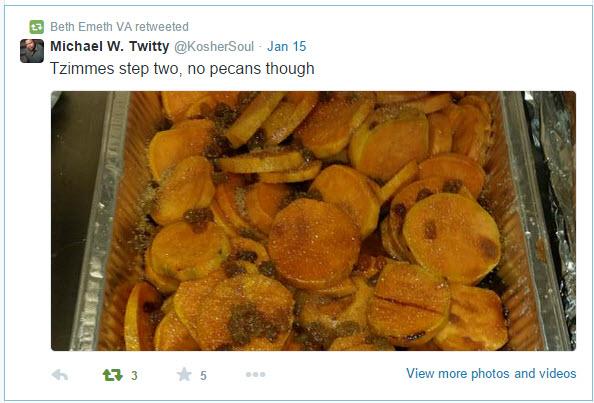2015-01-MLK Kosher Soul prep_Twitty tweet 5 Jan 15