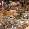 2014-12 Latke Dinner - Menorah Lighting_7587
