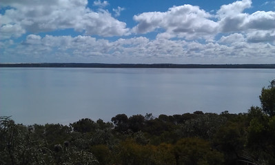 Pink Lake, Esperance (but not so pink on the 30th July)