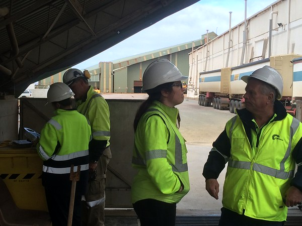 CBH Site Visits - 12th March 2016 - Esperance and Chadwick
