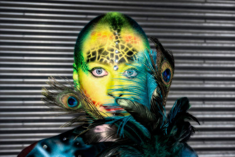 Body Paint Event July 2019 - Caitlin Feathers