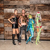 Body Paint Event July 2019 - Group Shot Models