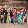 Body Paint Event July 2019 - Group Shot Fun