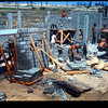 CBMU-301 Masonry Crew at Cua Viet-1970<br /> Housing for Vietnamese Sailors and Families
