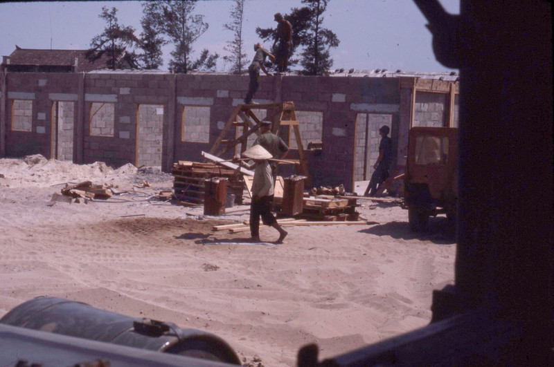 Housing for Vietnamese Sailors and Families-1970<br /> Cua Viet-Northern I Corps