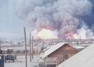 September 1967...Dong Ha ammo dump explosion