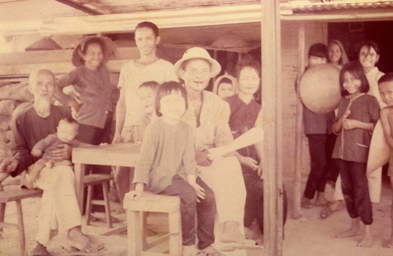 Cam Lo Village Chief and Family