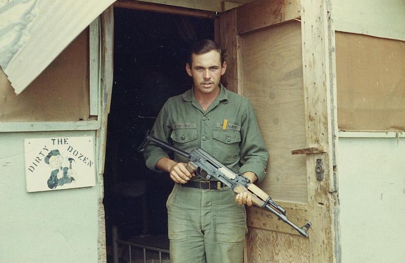John R O'Brien With An AK-51