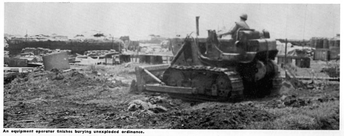 Sam Messer Burying Unexploded Ordinance