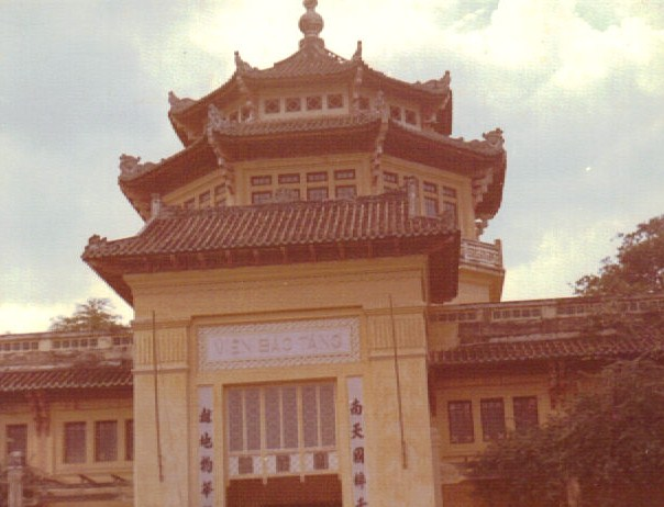 Vietnamese temple.